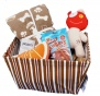 Dog's Gift Set - Pet Blanket, 2 Squeaky Toys and Pack of Bakers